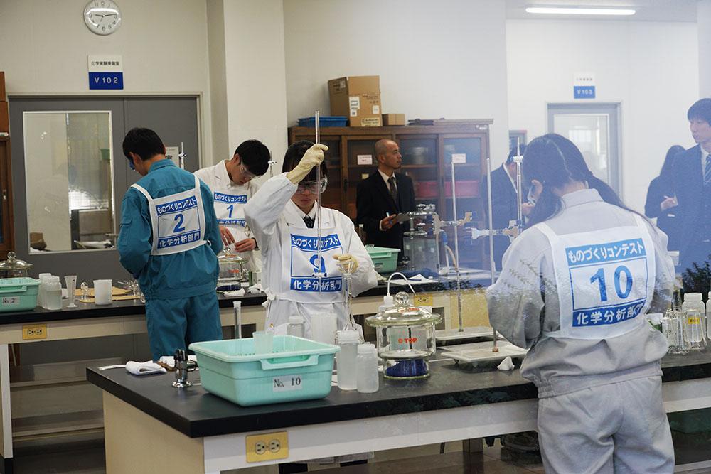 ものづくり コンテスト 高校生 兵庫県立姫路工業高等学校 ものづくり ものづくりコンテスト・表彰