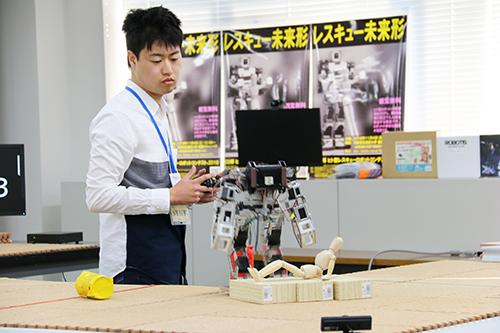 OECU杯 ヒト型レスキューロボットコンテスト 2018」を開催しました ...